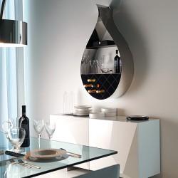 Librerie cattelan design moderno passarini - Portabottiglie acciaio ...