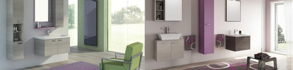 Mobili bagno componibili e colorati passarini arredamenti - Pomelli colorati per mobili ...