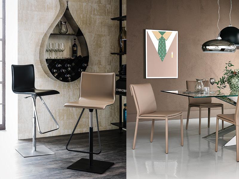 sedie e sgabelli cattelan a bologna passarini arredamenti