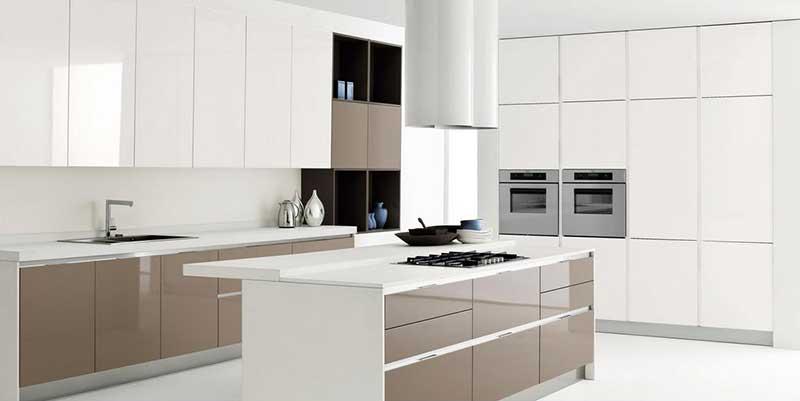 Cucine classiche e moderne bologna passarini - Cucine moderne color ciliegio ...