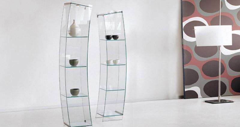 Vetrinette in vetro moderne  Passarini Arredamenti